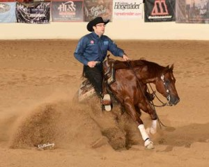 Coded N Karma at High Roller Reining Classic