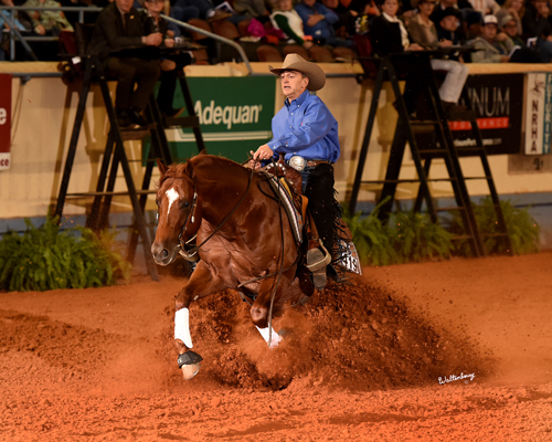 2015 NRHA Futurity - Electro Star ridden by Casey Hinton